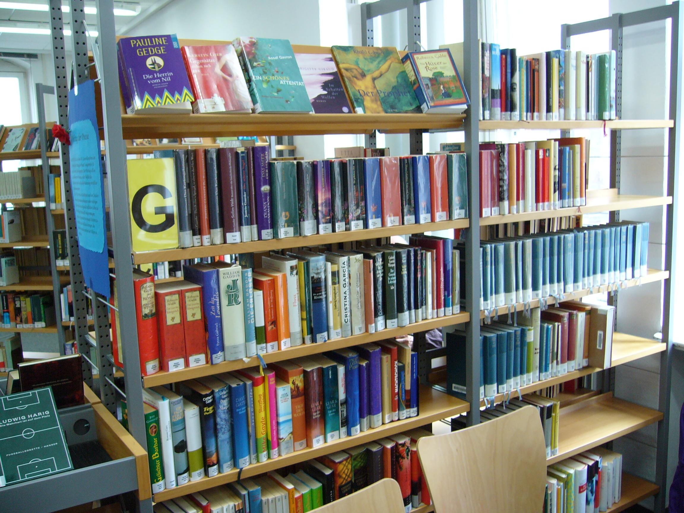 In der Stadtbibliothek