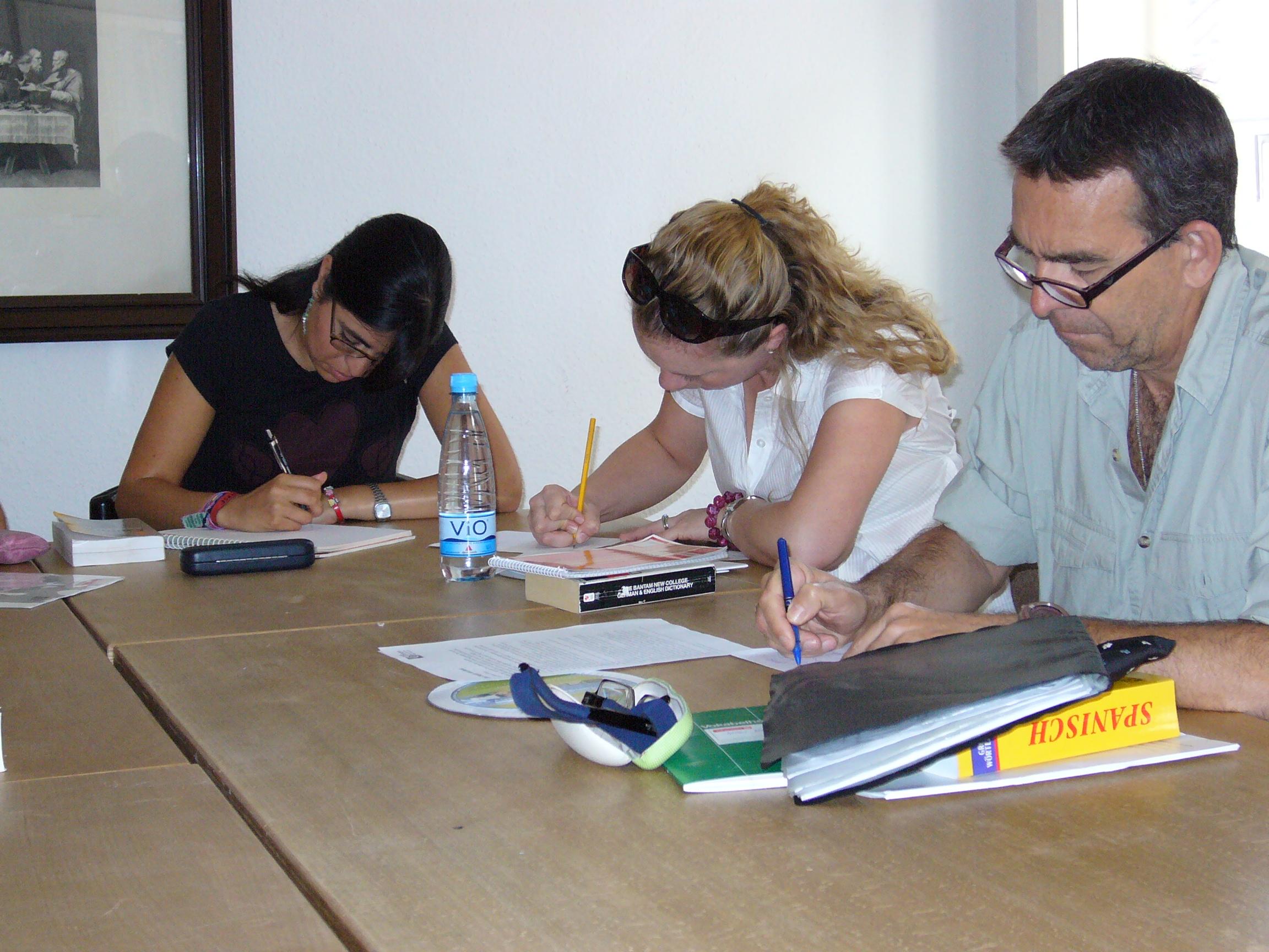 Konzentriertes Lernen