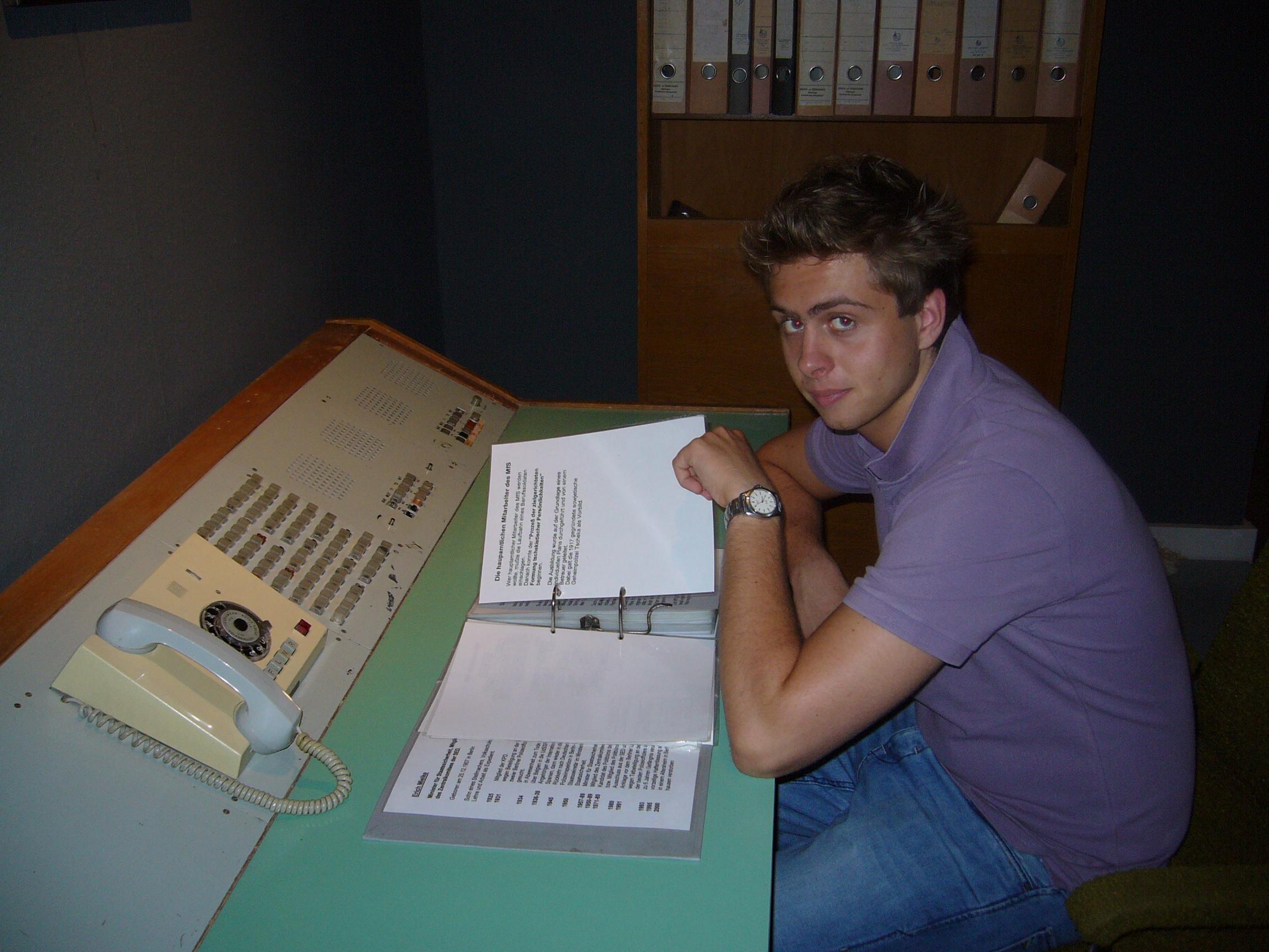 Filip im Grenzlandmuseum