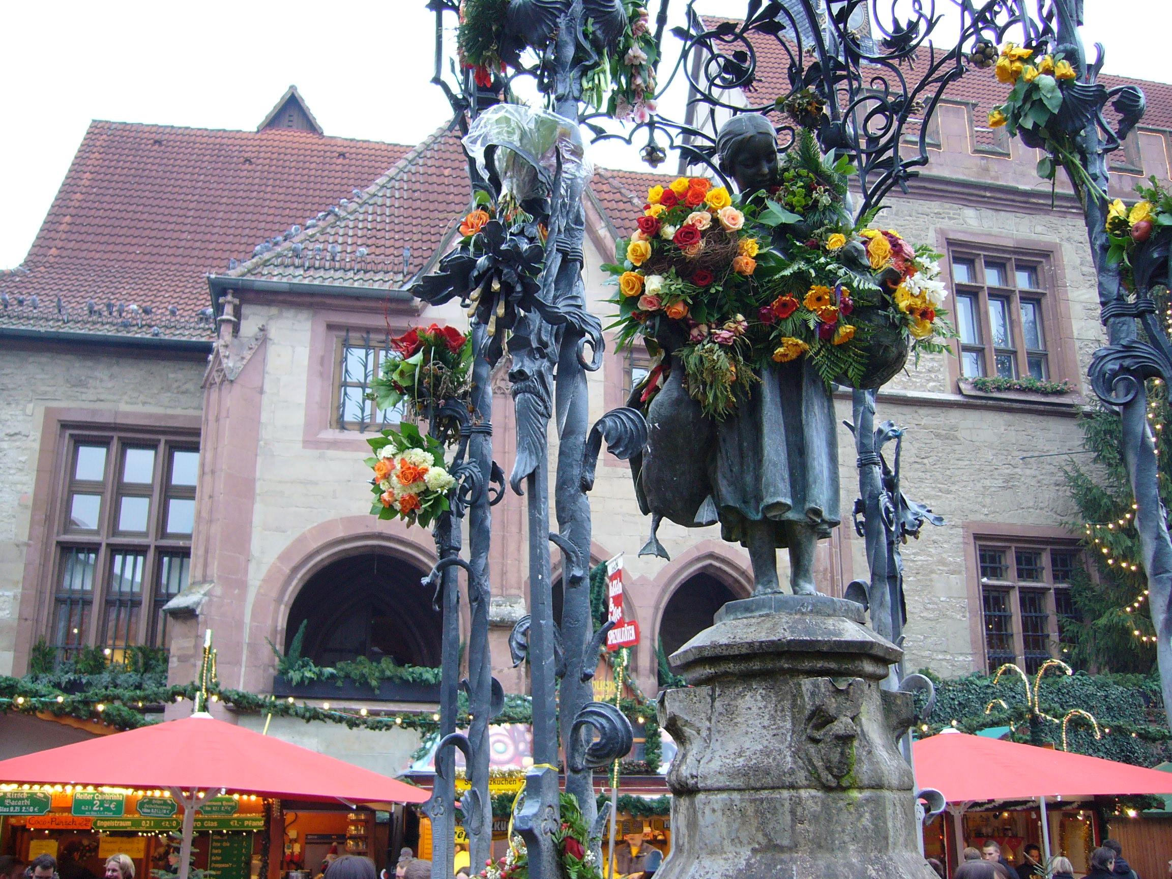 Gänseliesel - Wahrzeichen Göttingens