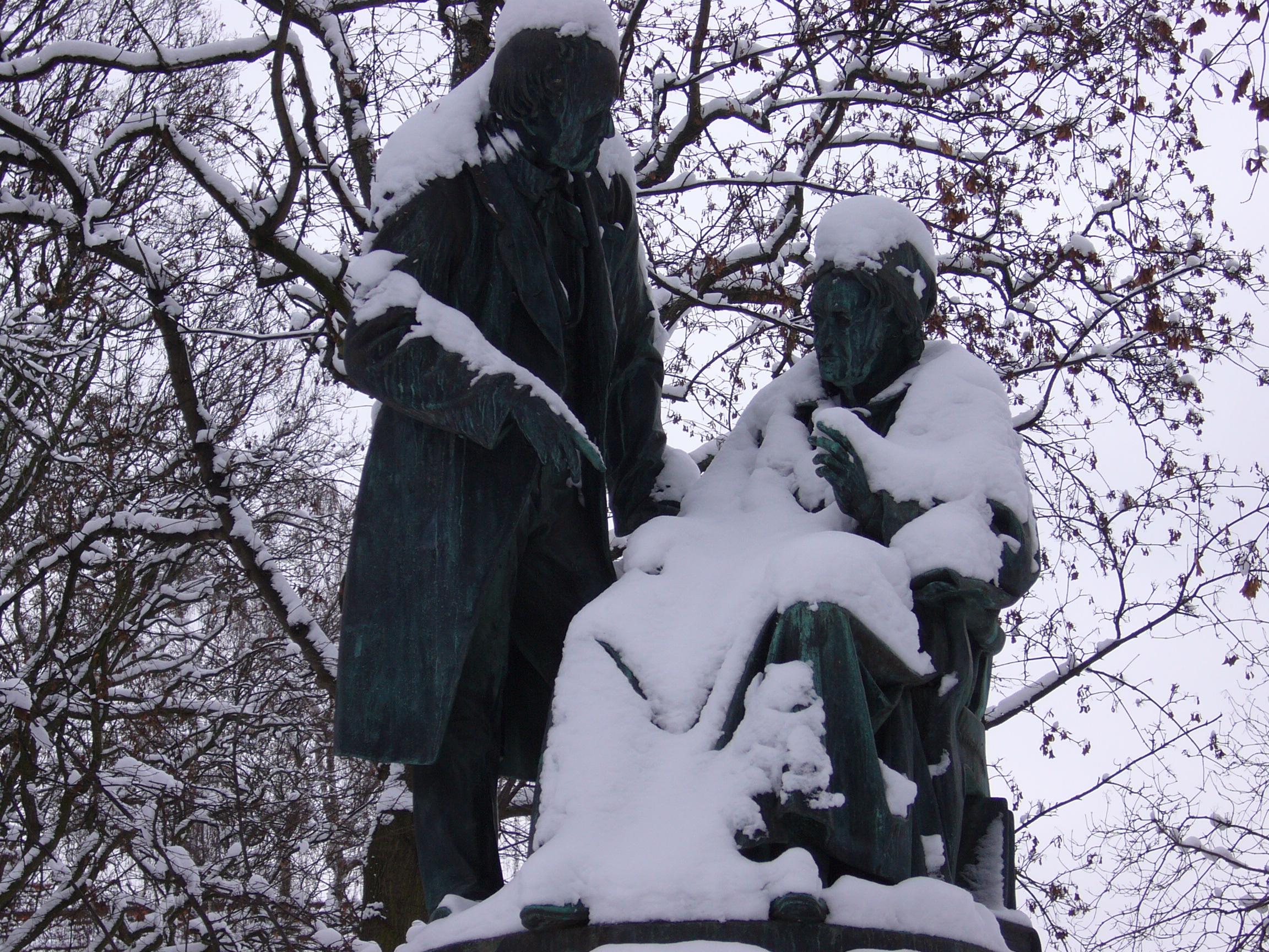 Gauß und Weber eingeschneit