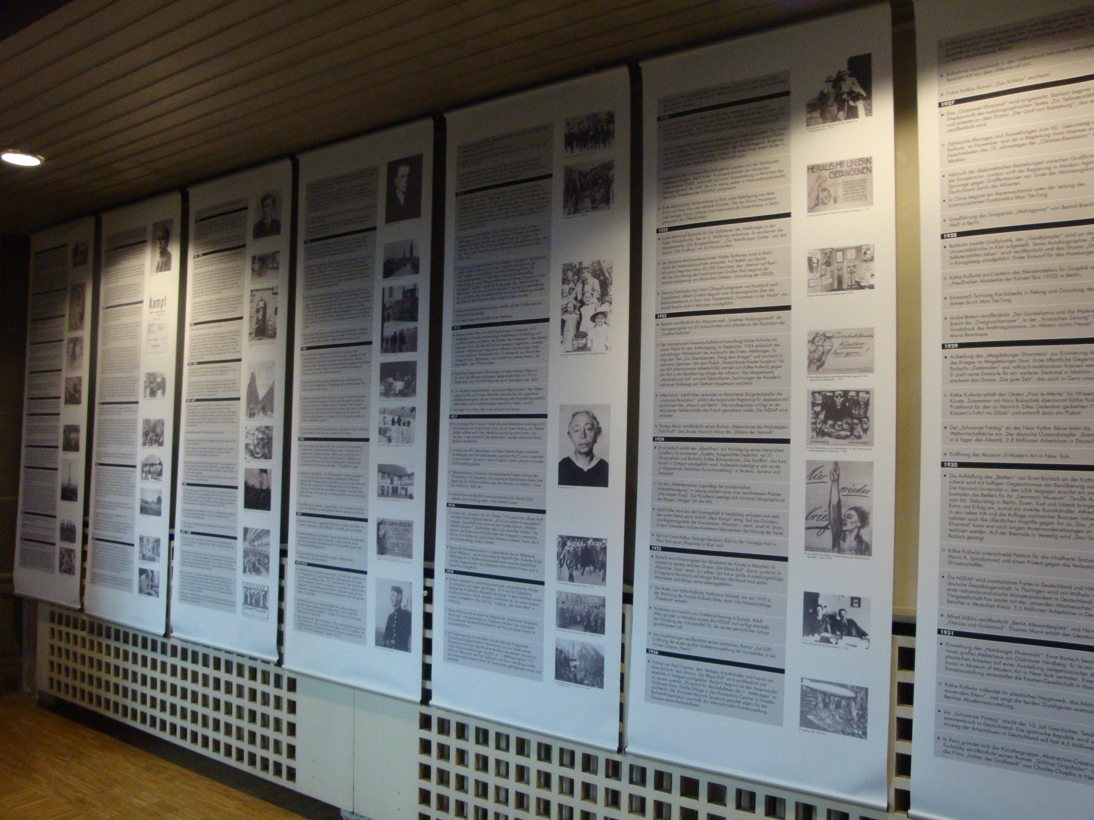 Biografien in der Ausstellung
